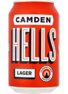Camden Hells Lager 12x330ml Cans
