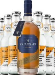 Cotswolds Founders Choice Whisky & Sekforde Bundle