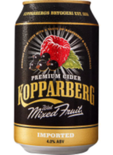 Kopparberg Mixed Fruit Cider 12x330ml Cans